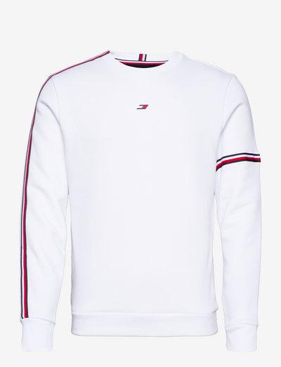TAPE SEASONAL CREW - clothing - white