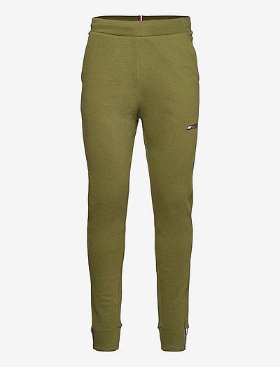 LOGO FLEECE PANT - sweatpants - putting green