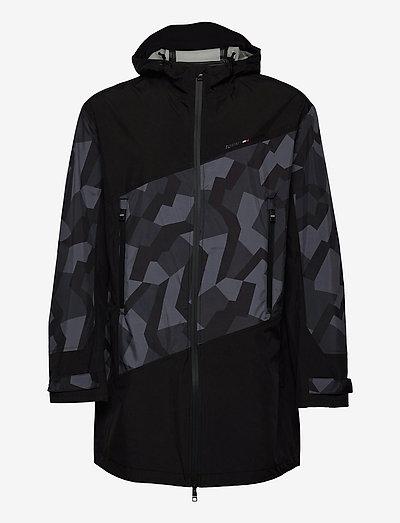 PROTECTIVE PARKA - parka coats - black