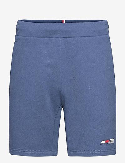 TERRY LOGO SHORT - casual shorts - indigo blue