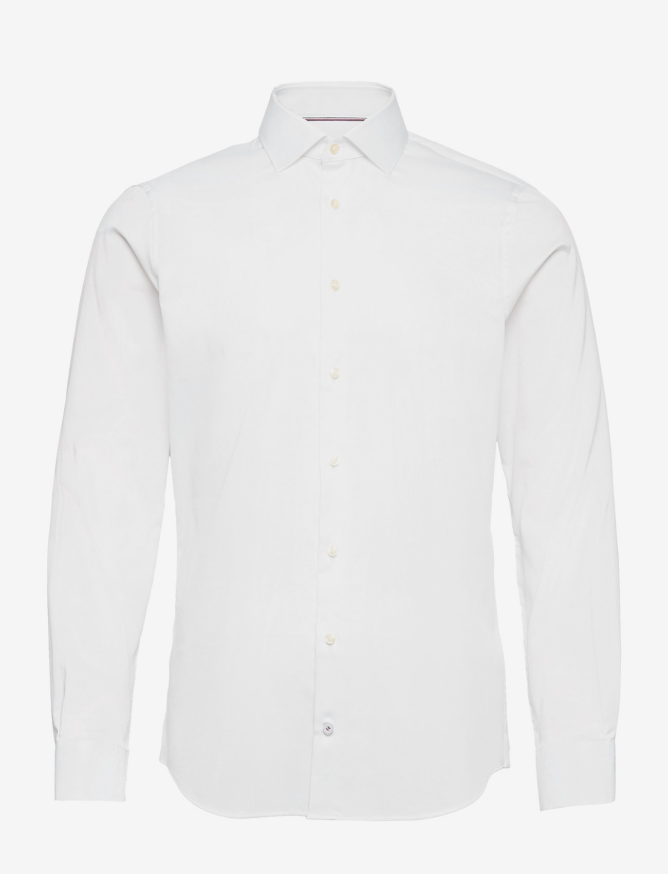 Tommy Hilfiger Tailored - DOBBY FLEX COLLAR SLIM SHIRT - basic shirts - white - 0