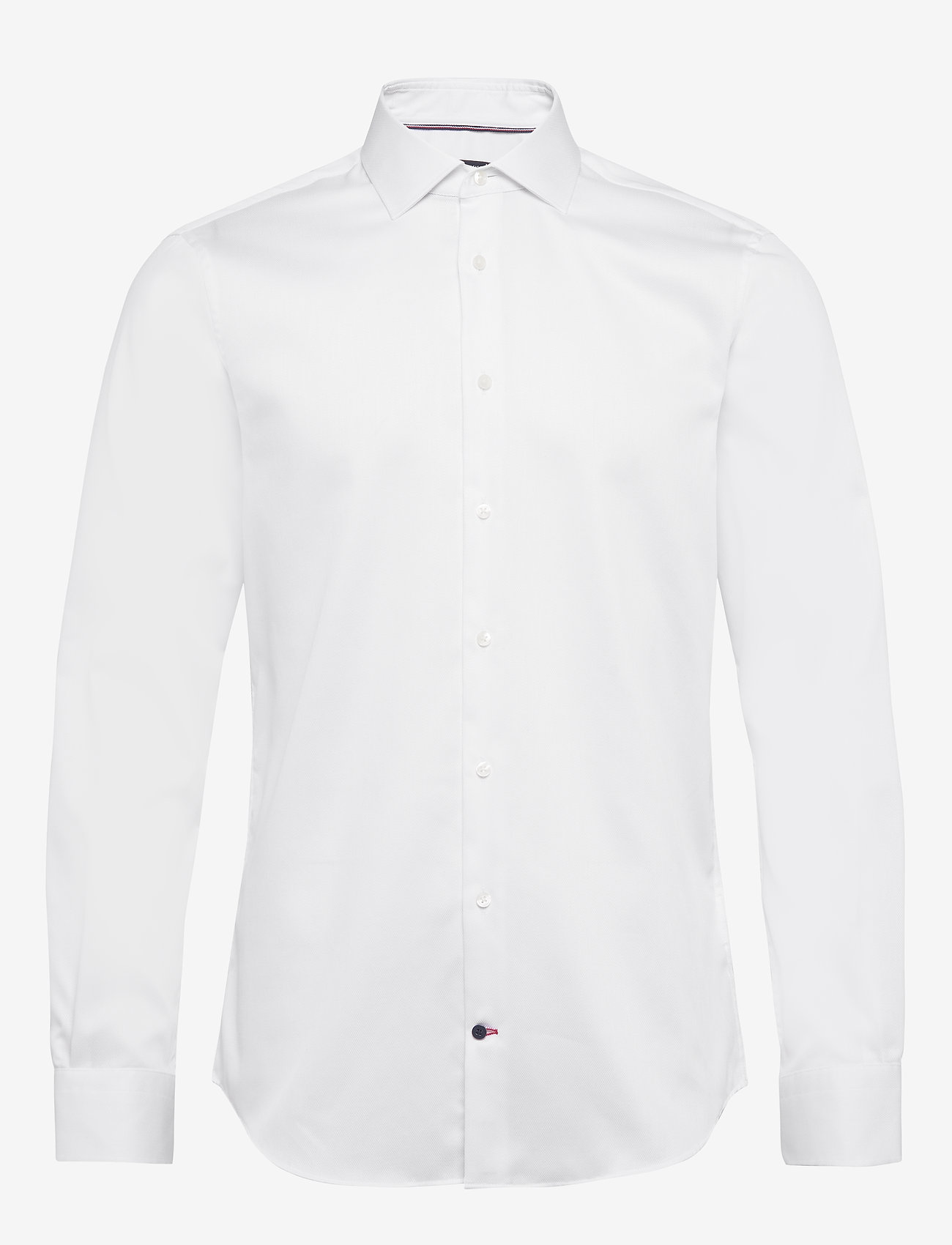 Tommy Hilfiger Tailored - DOBBY FLEX COLLAR SLIM SHIRT - basic skjorter - white - 0