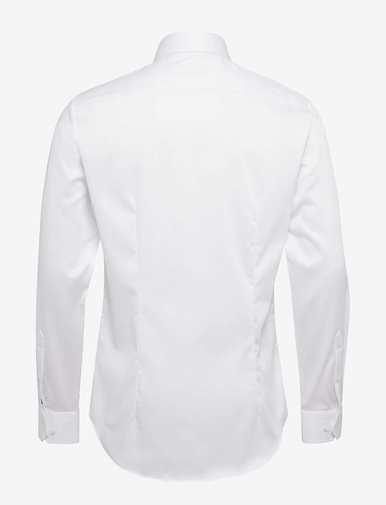 Tommy Hilfiger Tailored - DOBBY FLEX COLLAR SLIM SHIRT - basic skjorter - white - 1
