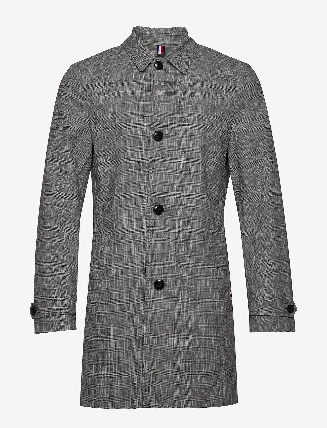 Tommy Hilfiger Tailored - CHECK DESIGN CARCOAT - manteaux legères - black check 02 - 1
