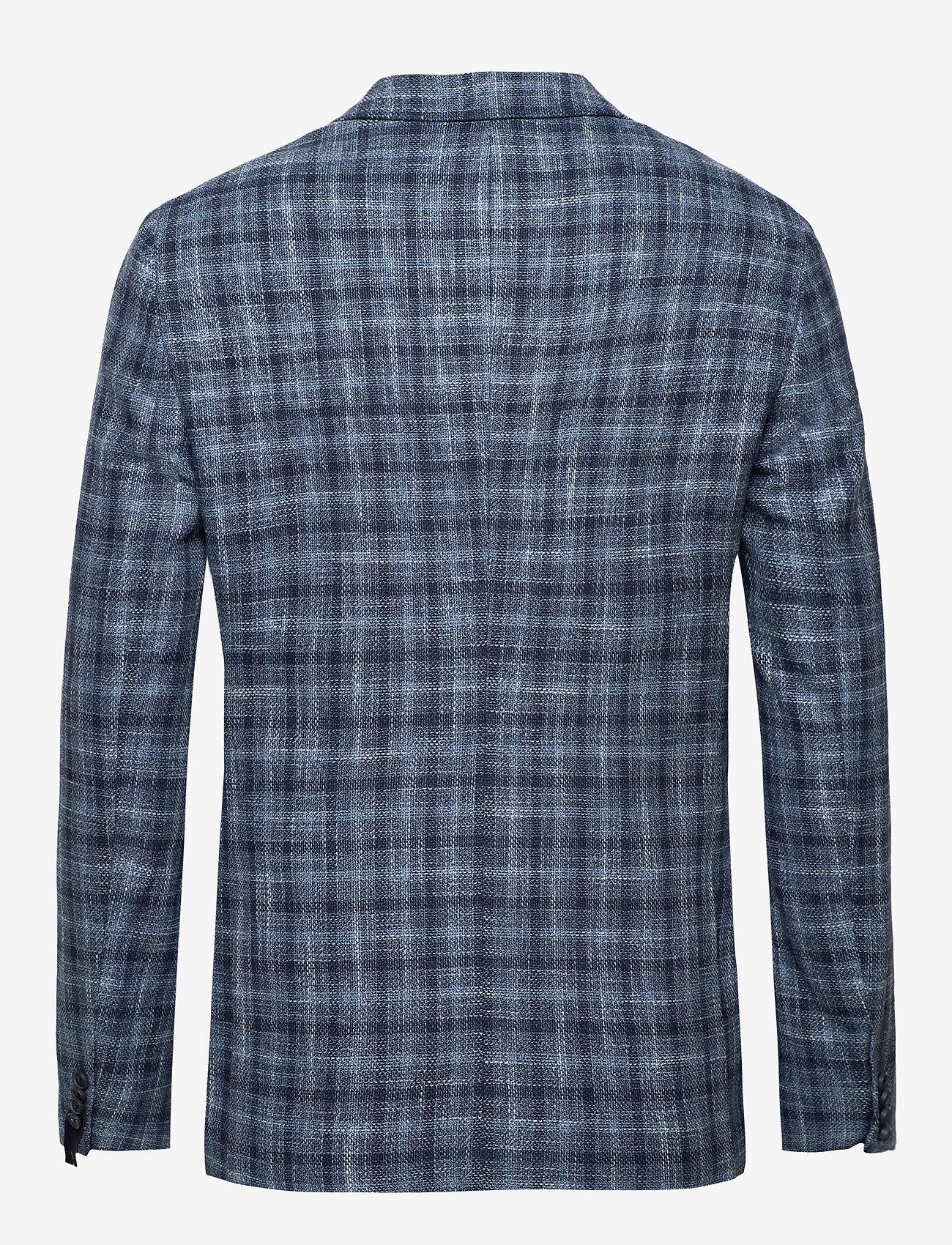 Tommy Hilfiger Tailored - COTTON BLEND SLIM FI - blazers à boutonnage simple - navy/iriscope/white - 1