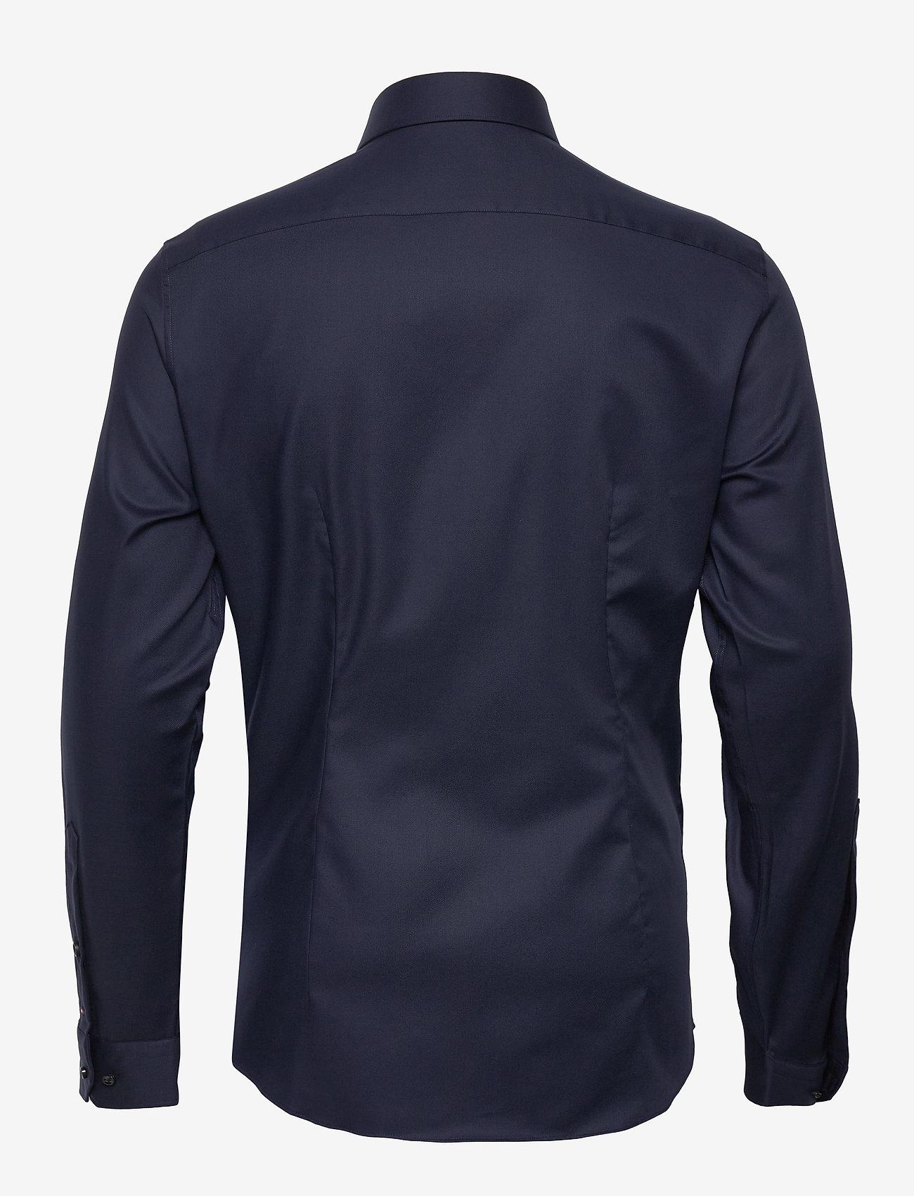 Tommy Hilfiger Tailored - TWILL FLEX COLLAR SLIM SHIRT - basic skjorter - navy blazer - 1