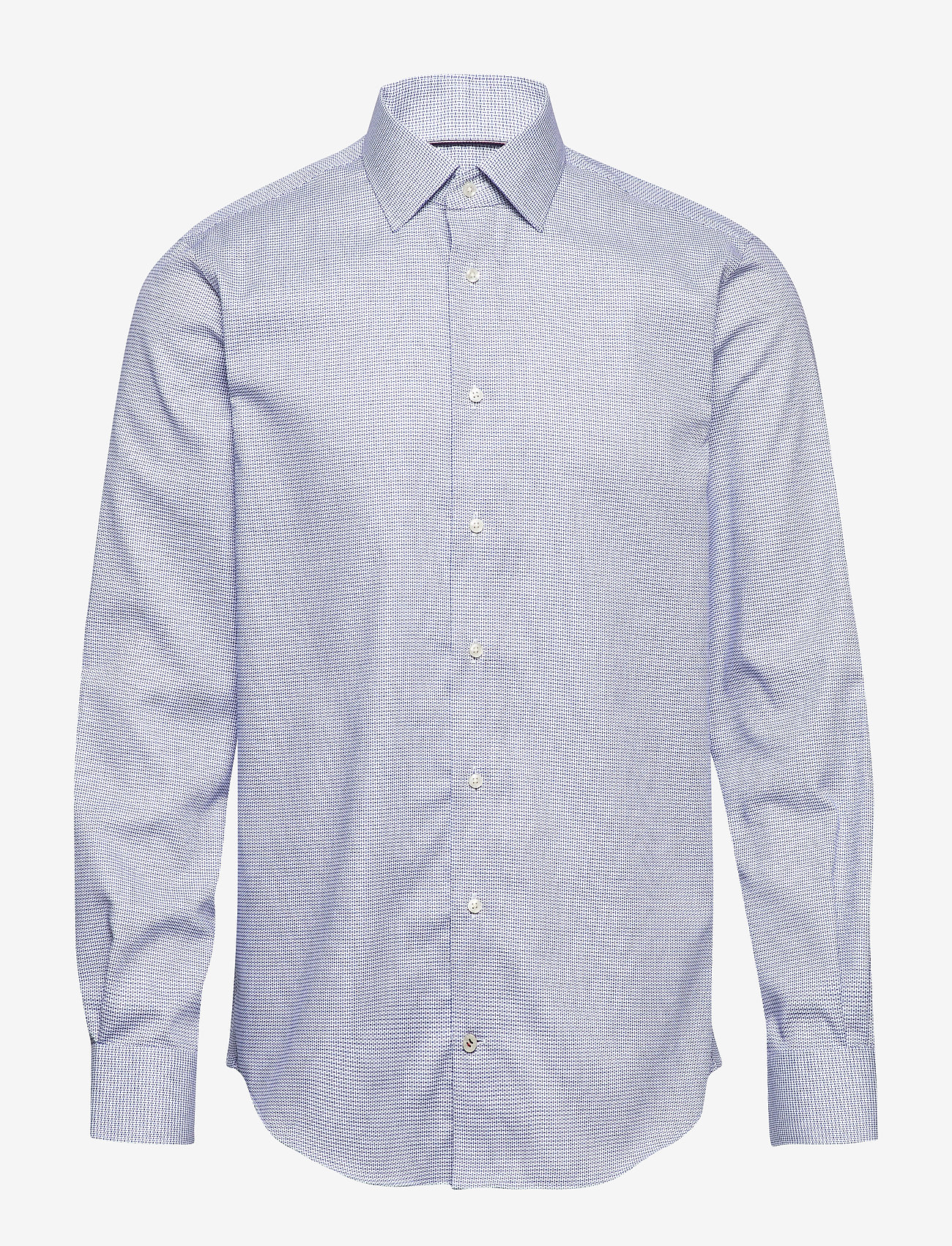 Tommy Hilfiger Tailored - DOBBY DESIGN CLASSIC SHIRT - basic skjorter - navy/white - 0