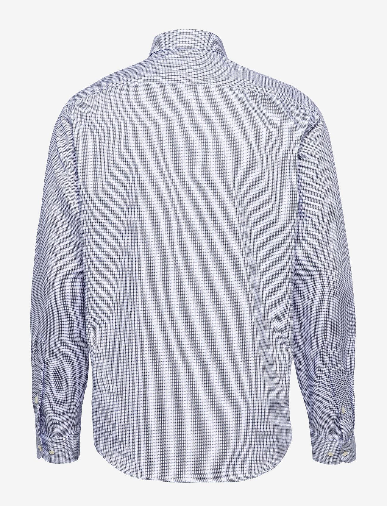 Tommy Hilfiger Tailored - DOBBY DESIGN CLASSIC SHIRT - basic skjorter - navy/white - 1