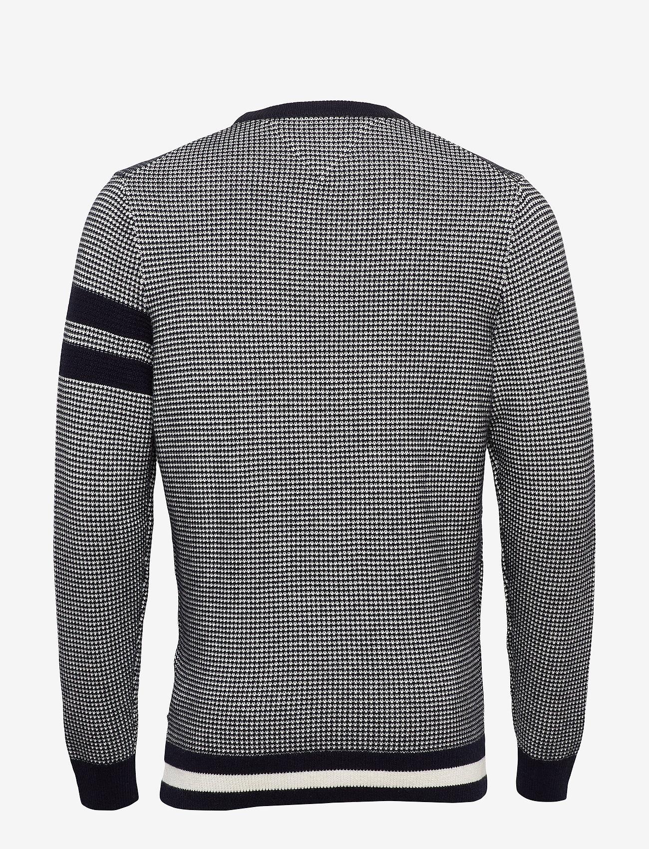 Tommy Hilfiger Tailored - MACRO JACQUARD CREW NECK - tricots basiques - desert sky - 1
