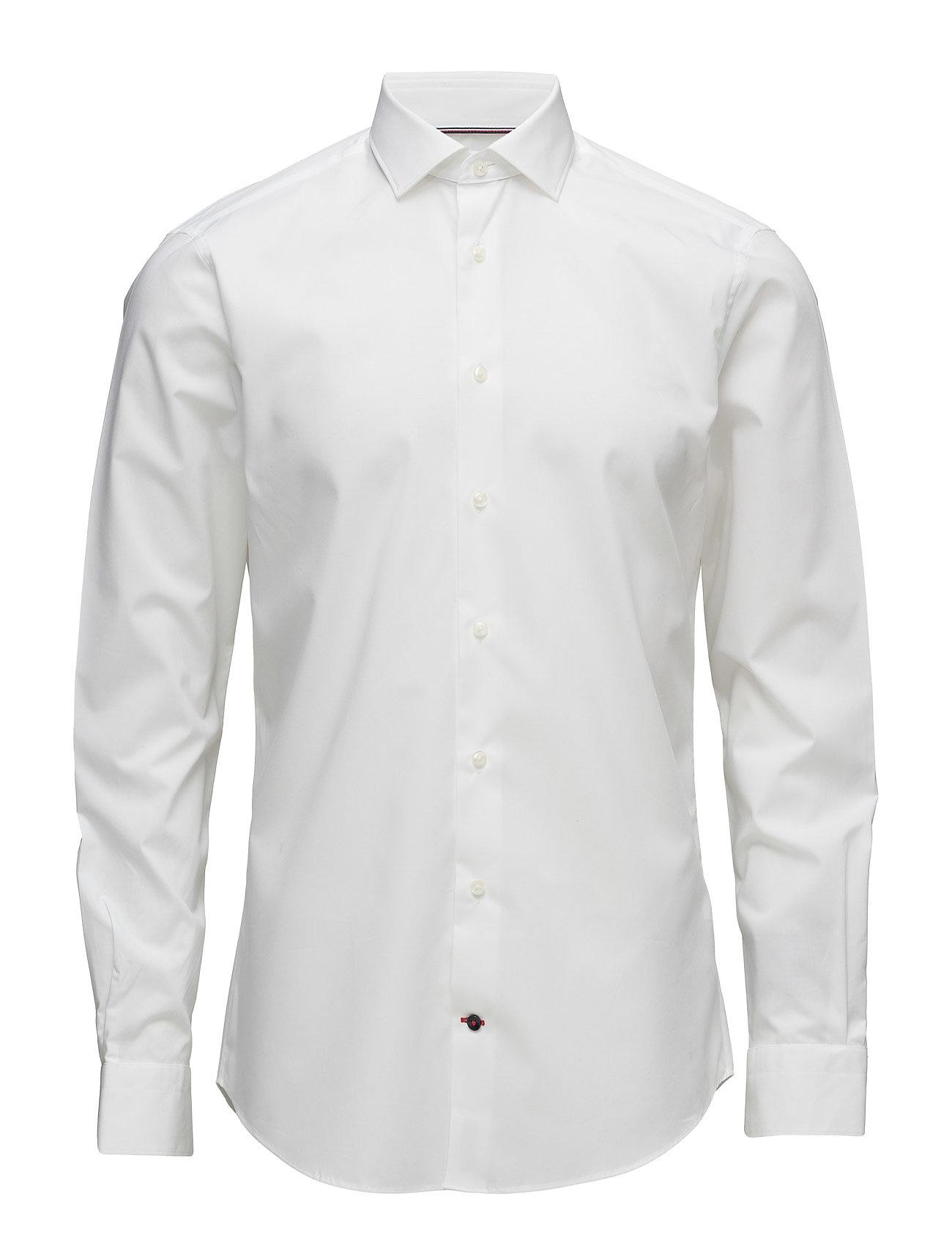 Tommy Hilfiger Tailored CORE STRETCH POPLIN SLIM SHIRT - WHITE