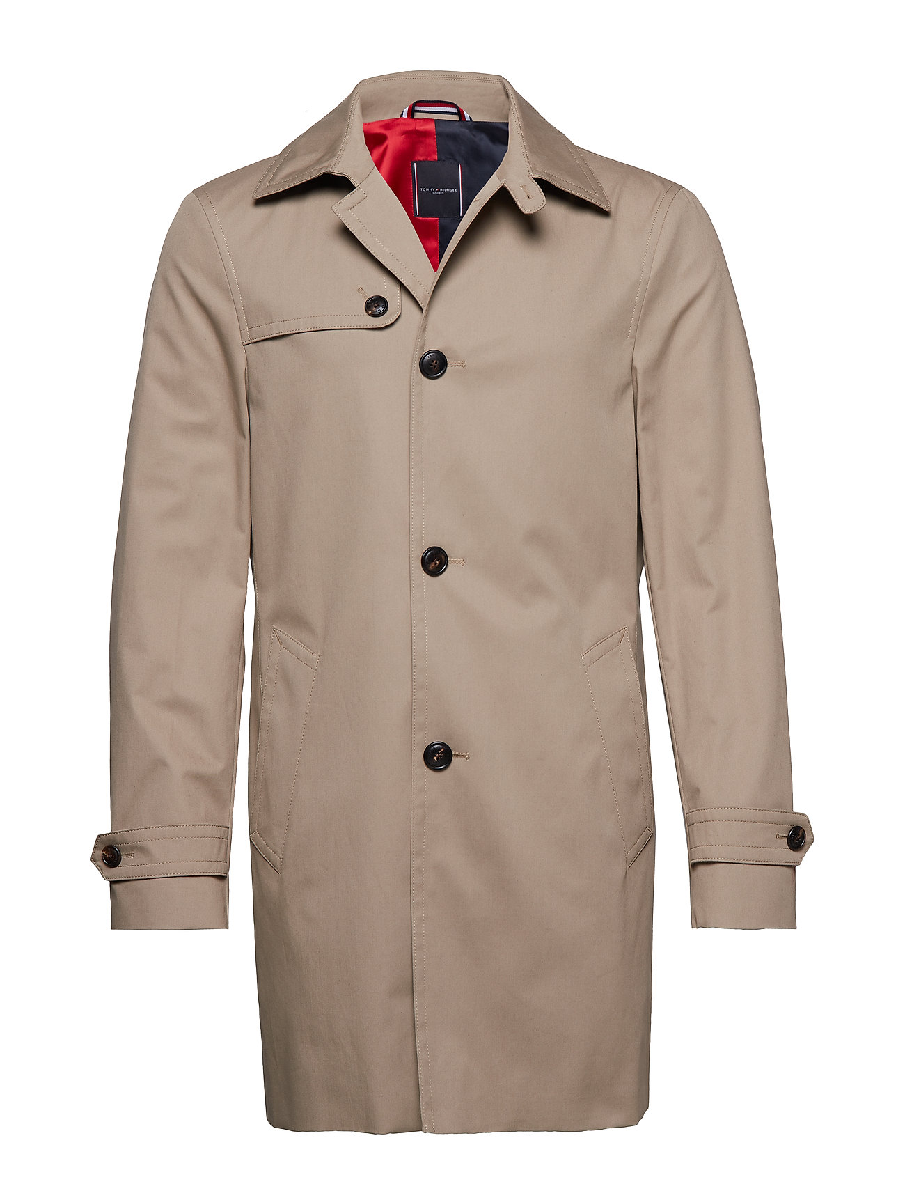 Tommy Hilfiger Tailored COTTON UTILITY COAT - BEIGE