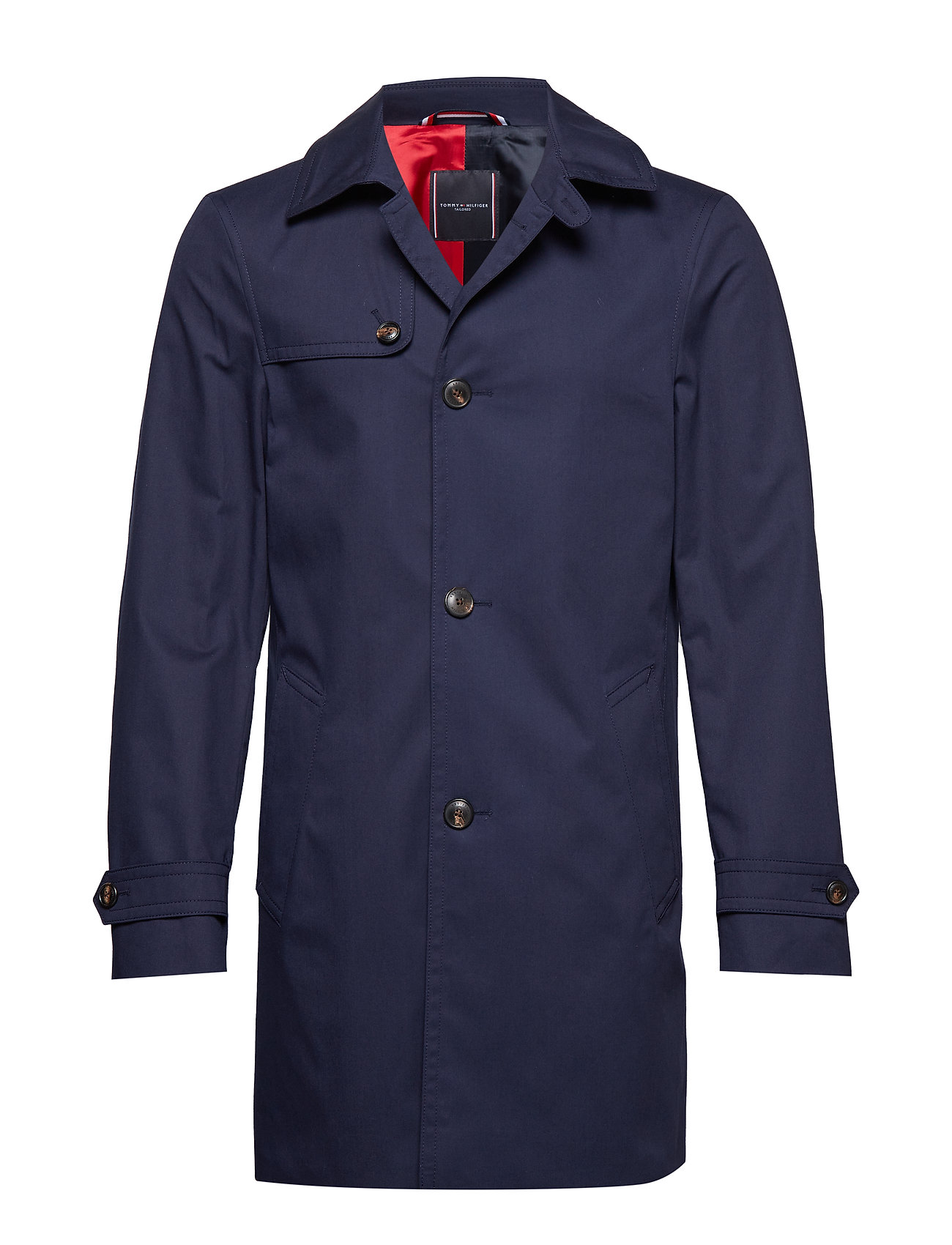 Tommy Hilfiger Tailored COTTON UTILITY COAT - NAVY BLAZER