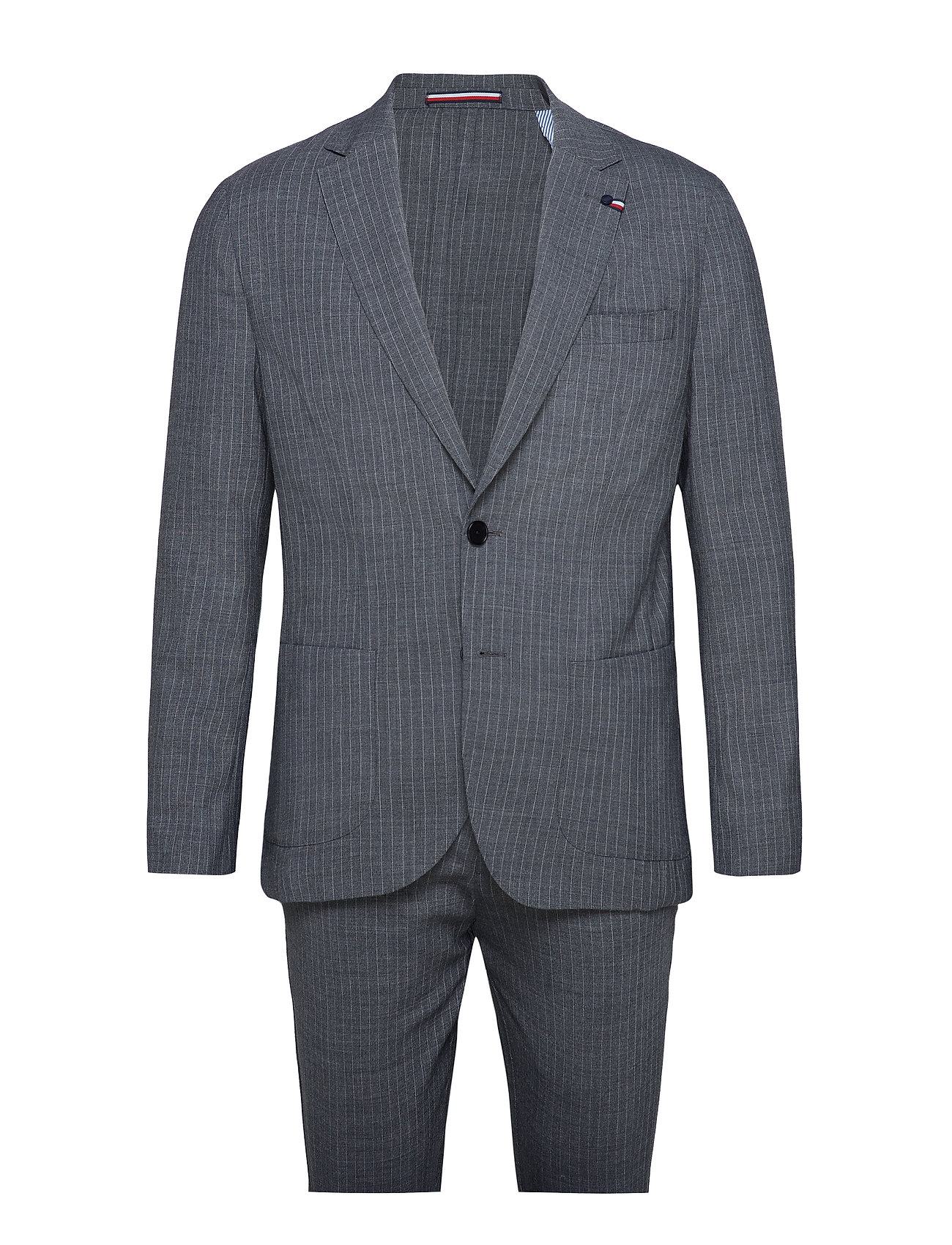 Tommy Hilfiger Tailored WASHABLE WOOL BLEND  SLIM SUIT - CHARCOAL
