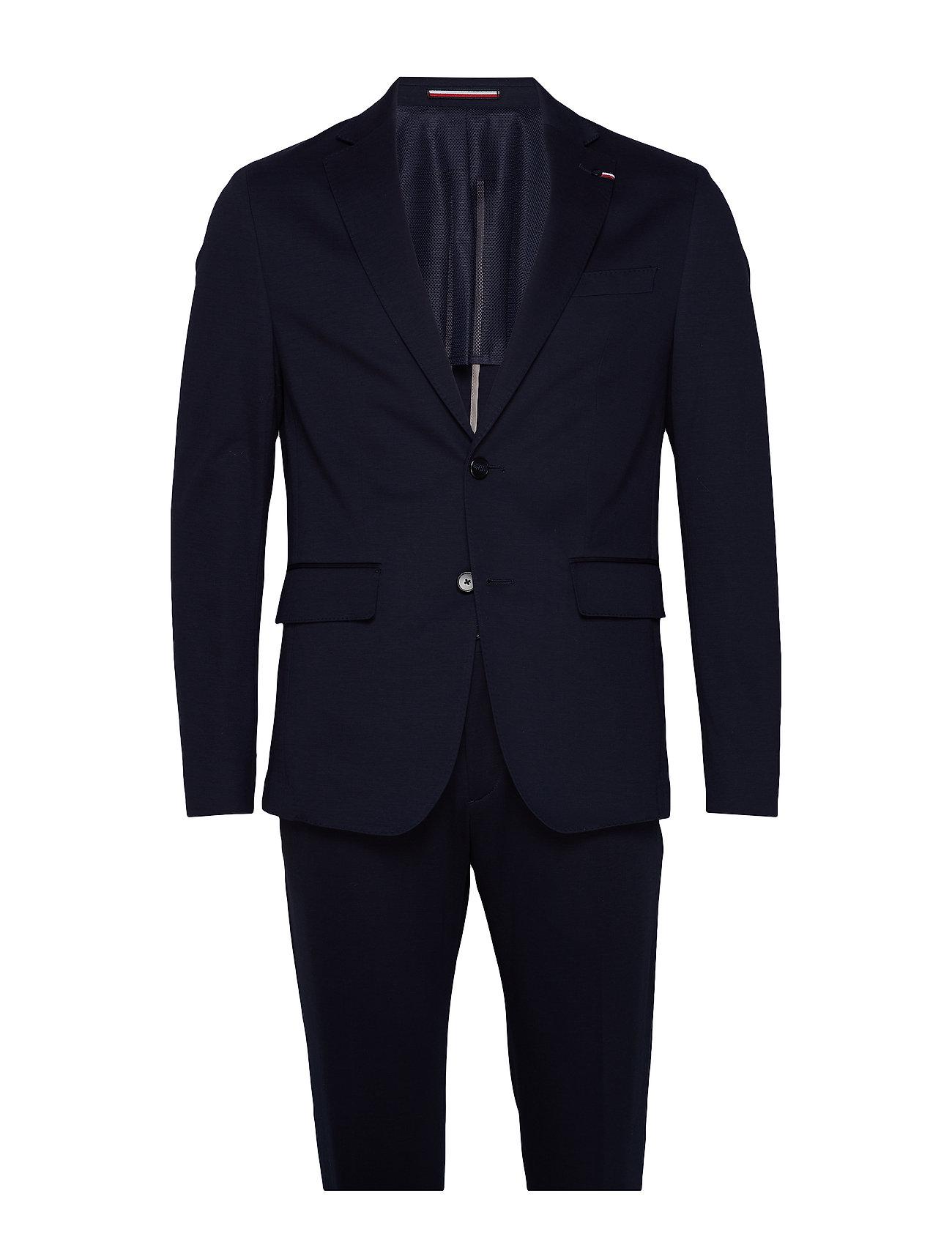 Tommy Hilfiger Tailored FLEX BIKE SLIM FIT S - MIDNIGHT BLUE
