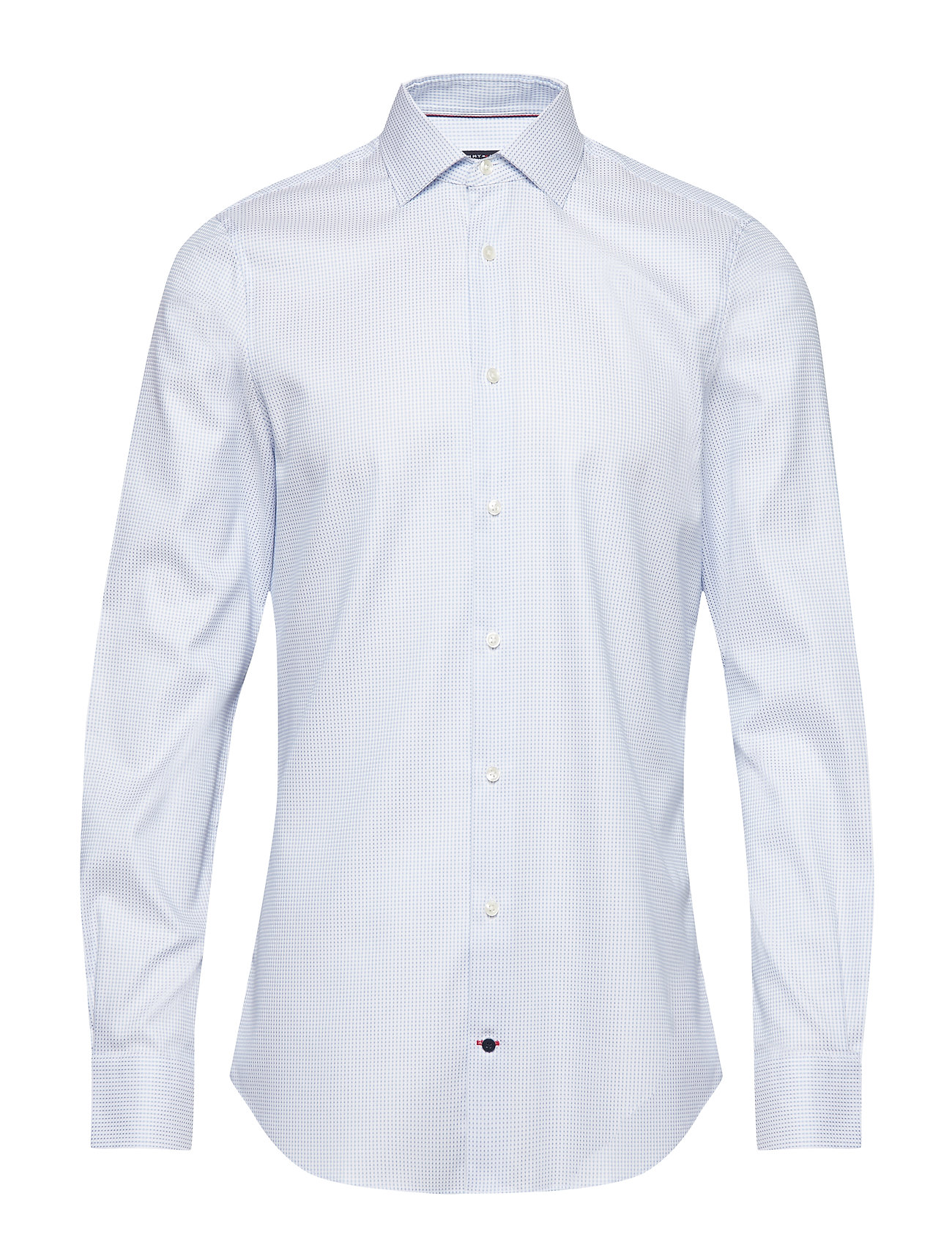 TOMMY HILFIGER Flex Collar Classic Hemd Business Blau TOMMY HILFIGER TAILORED