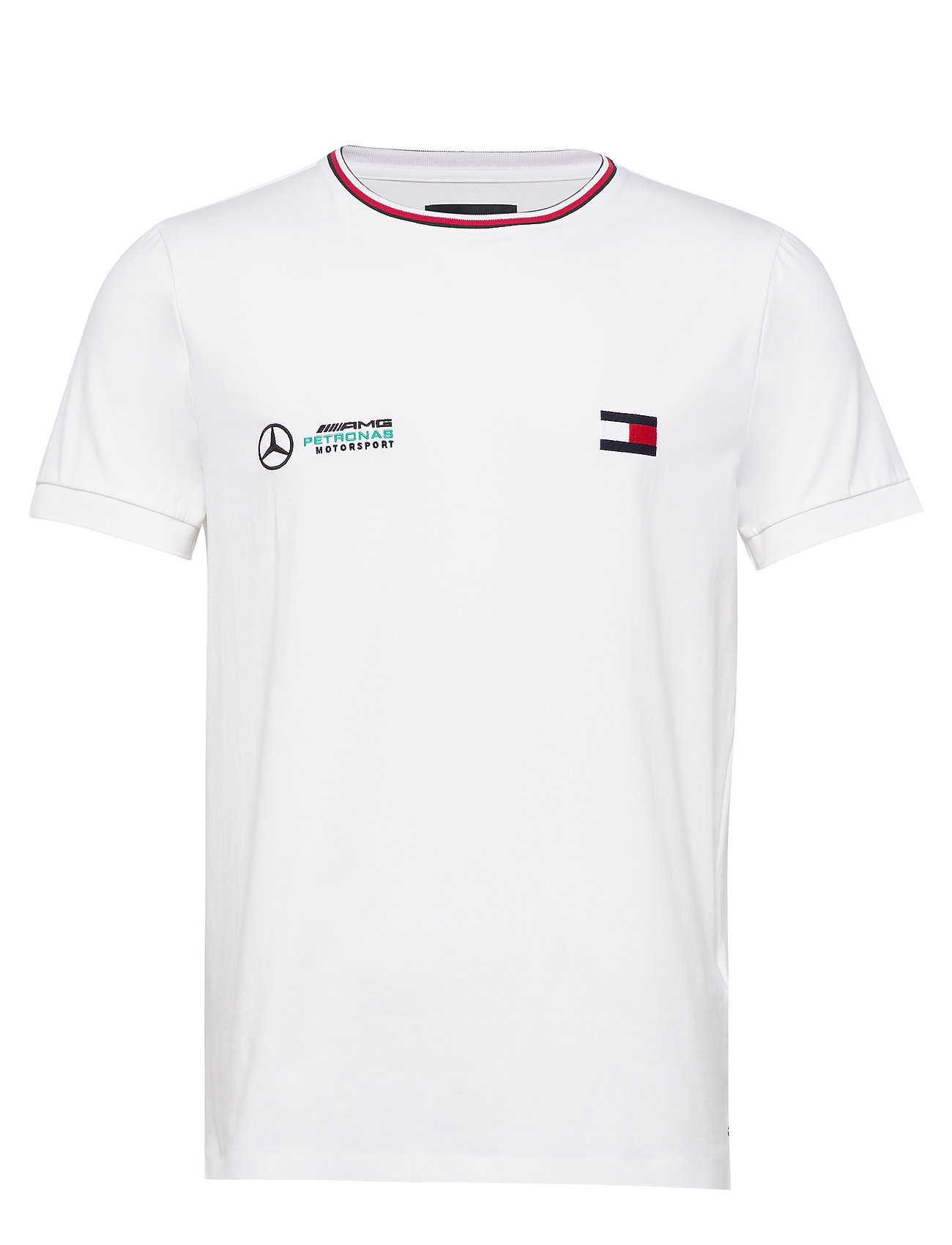 Tommy Hilfiger Tailored 1 MB LOGO TEE - BRIGHT WHITE