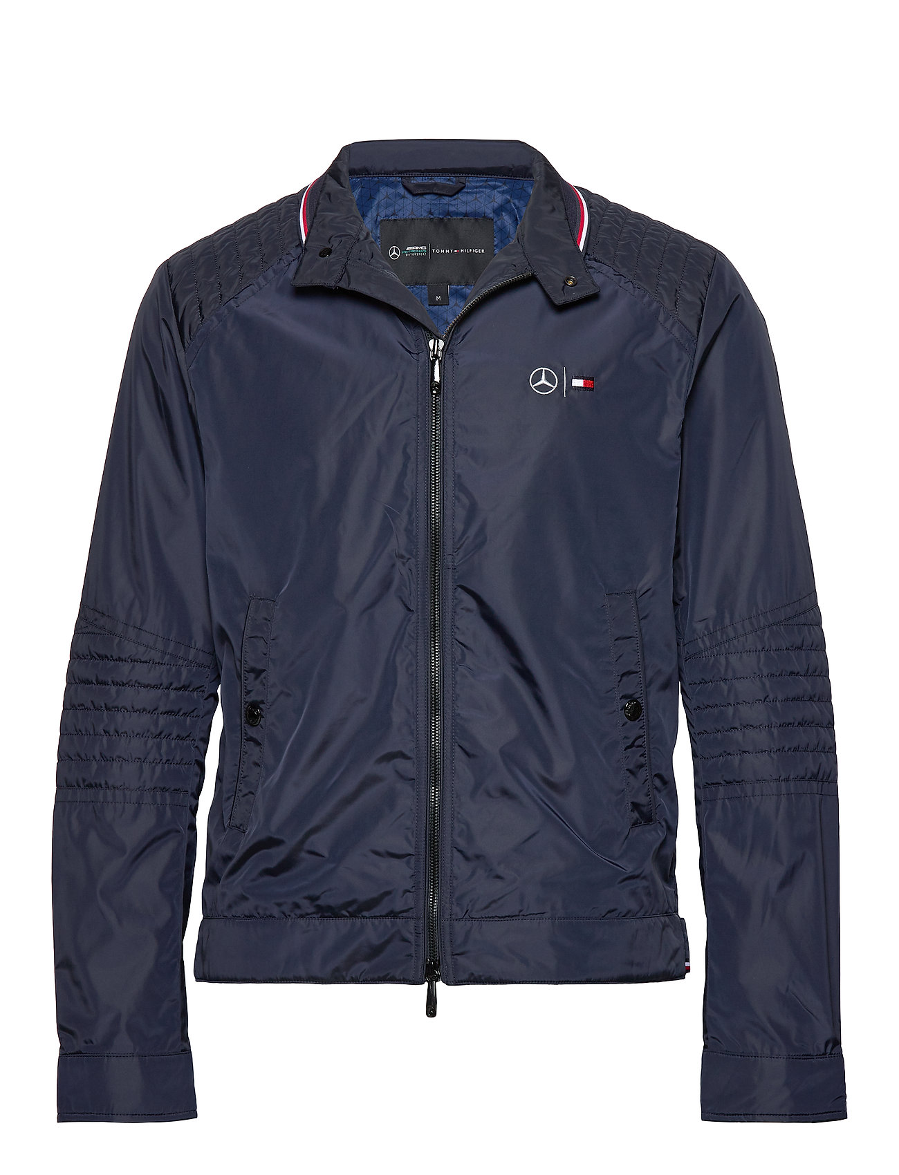 Tommy Hilfiger Tailored 2 MB NYLON CAFE RACER - SKY CAPTAIN