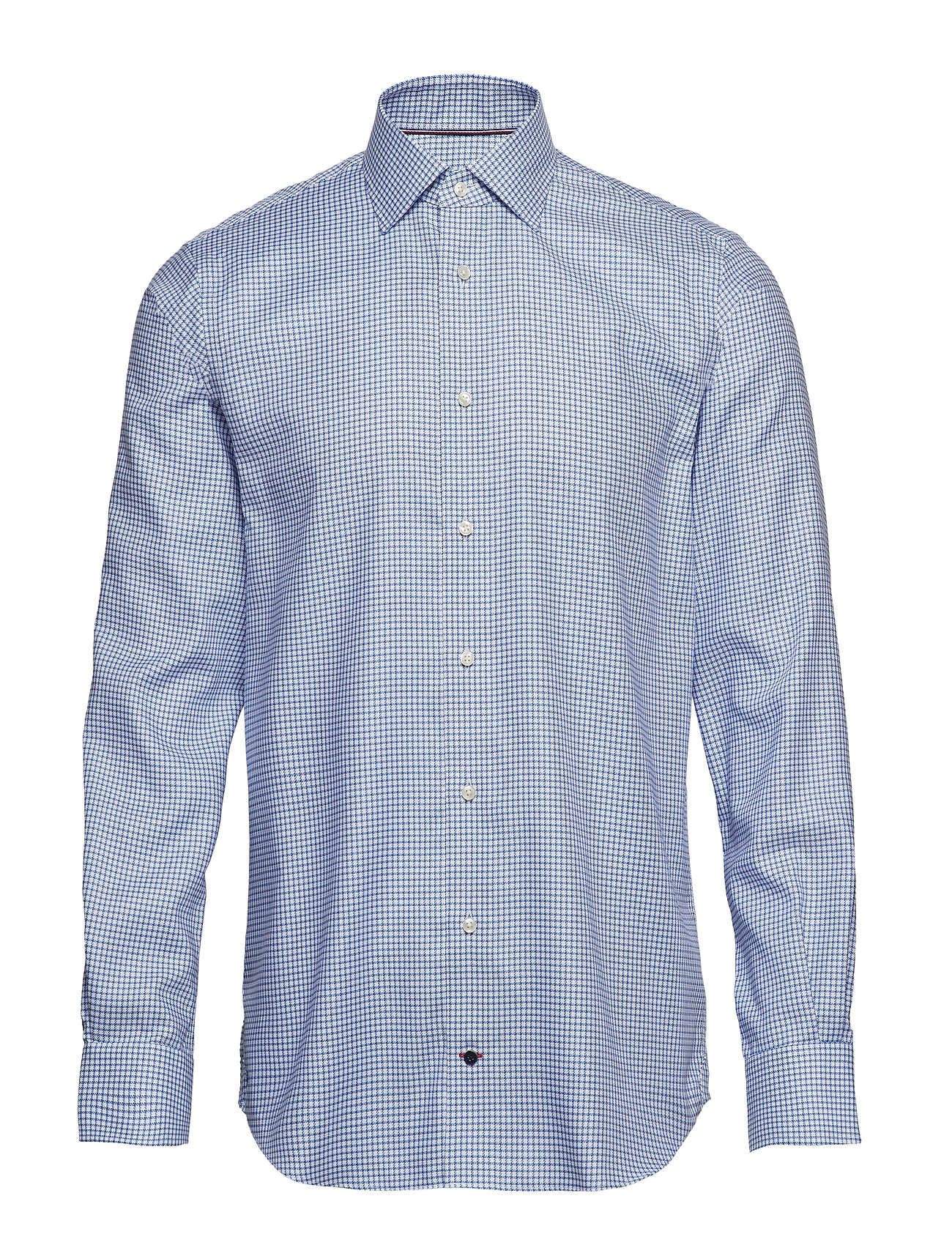 Tommy Hilfiger Tailored CHECK CLASSIC SHIRT - BLUEBELL/BRIGHTWHITE/MEDIEVALB