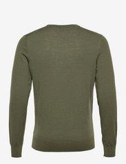 Tommy Hilfiger Tailored - FINE GAUGE MERINO WOOL CREW NECK - basic knitwear - rocky mountain - 1