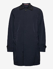 Tommy Hilfiger Tailored - MAN GARMENT DYED TRENCH - manteaux legères - blue - 0