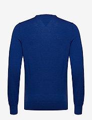 Tommy Hilfiger Tailored - FINE GAUGE LUXURY WOOL CREW NECK - pulls col rond - regal blue heather - 1