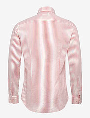 Tommy Hilfiger Tailored - WASHED STRIPE CLASSIC SLIM SHIRT - business skjorter - salmon/white - 1