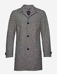 Tommy Hilfiger Tailored - CHECK DESIGN CARCOAT - manteaux legères - black check 02 - 0