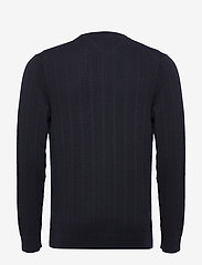 Tommy Hilfiger Tailored - HERRINGBONE TEXTURE CREW NECK - basic strik - desert sky - 1