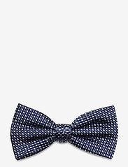 Tommy Hilfiger Tailored - MICRO DESIGN SILK BOWTIE - flugor - navy/blue/white - 0