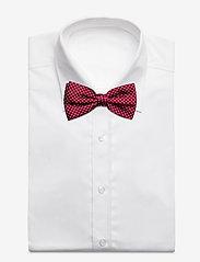 Tommy Hilfiger Tailored - MICRO DESIGN SILK BOWTIE - flugor - red/navy/white - 2