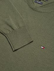 Tommy Hilfiger Tailored - FINE GAUGE MERINO WOOL CREW NECK - basic knitwear - rocky mountain - 2