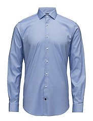 CORE STRETCH OXFORD SLIM SHIRT - BLUE
