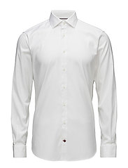 CORE STRETCH OXFORD SLIM SHIRT - 100