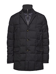 QUILTED DOWN COAT WITH BIB - 429