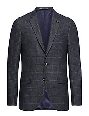 WINDOWPANE REGULAR FIT BLAZER - 423