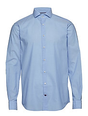 WASHED WIDE SPREAD SLIM SHIRT