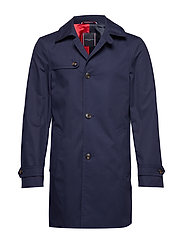 COTTON UTILITY COAT - NAVY BLAZER