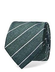 Silk Stripe 7cm Tie Slips Grønn TOMMY HILFIGER TAILORED