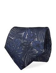 Silk Print 7cm Tie Slips Blå TOMMY HILFIGER TAILORED