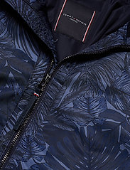 Tommy Hilfiger Tailored - PRINTED FLIGHT BOMBE - bomber jackets - navy blazer - 4