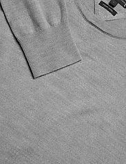 Tommy Hilfiger Tailored - FINE GAUGE LUXURY WOOL CREW NECK - pulls col rond - heather grey melange - 2