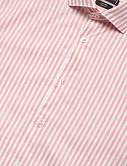 Tommy Hilfiger Tailored - WASHED STRIPE CLASSIC SLIM SHIRT - business skjorter - salmon/white - 3