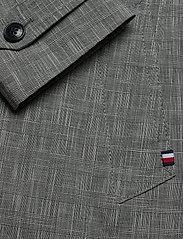 Tommy Hilfiger Tailored - CHECK DESIGN CARCOAT - manteaux legères - black check 02 - 4
