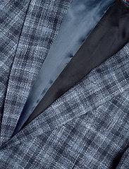 Tommy Hilfiger Tailored - COTTON BLEND SLIM FI - blazers à boutonnage simple - navy/iriscope/white - 2