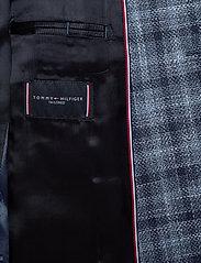 Tommy Hilfiger Tailored - COTTON BLEND SLIM FI - blazers à boutonnage simple - navy/iriscope/white - 5