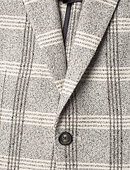 Tommy Hilfiger Tailored - SOFT CONSTRUCTED CHE - blazers à boutonnage simple - white check 05 - 2