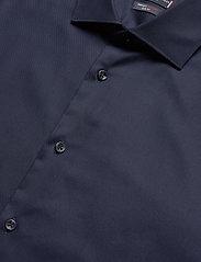 Tommy Hilfiger Tailored - TWILL FLEX COLLAR SLIM SHIRT - basic skjorter - navy blazer - 2
