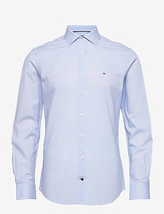 GEO PRT SLIM SHIRT - basic skjortor - light blue/ white