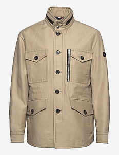 ELEVATED FIELD JACKET - tunna jackor - camel