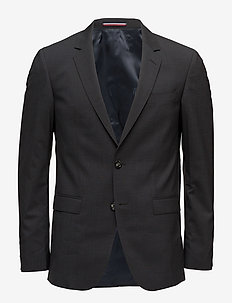 MIK STSSLD99004 - single breasted blazers - grey